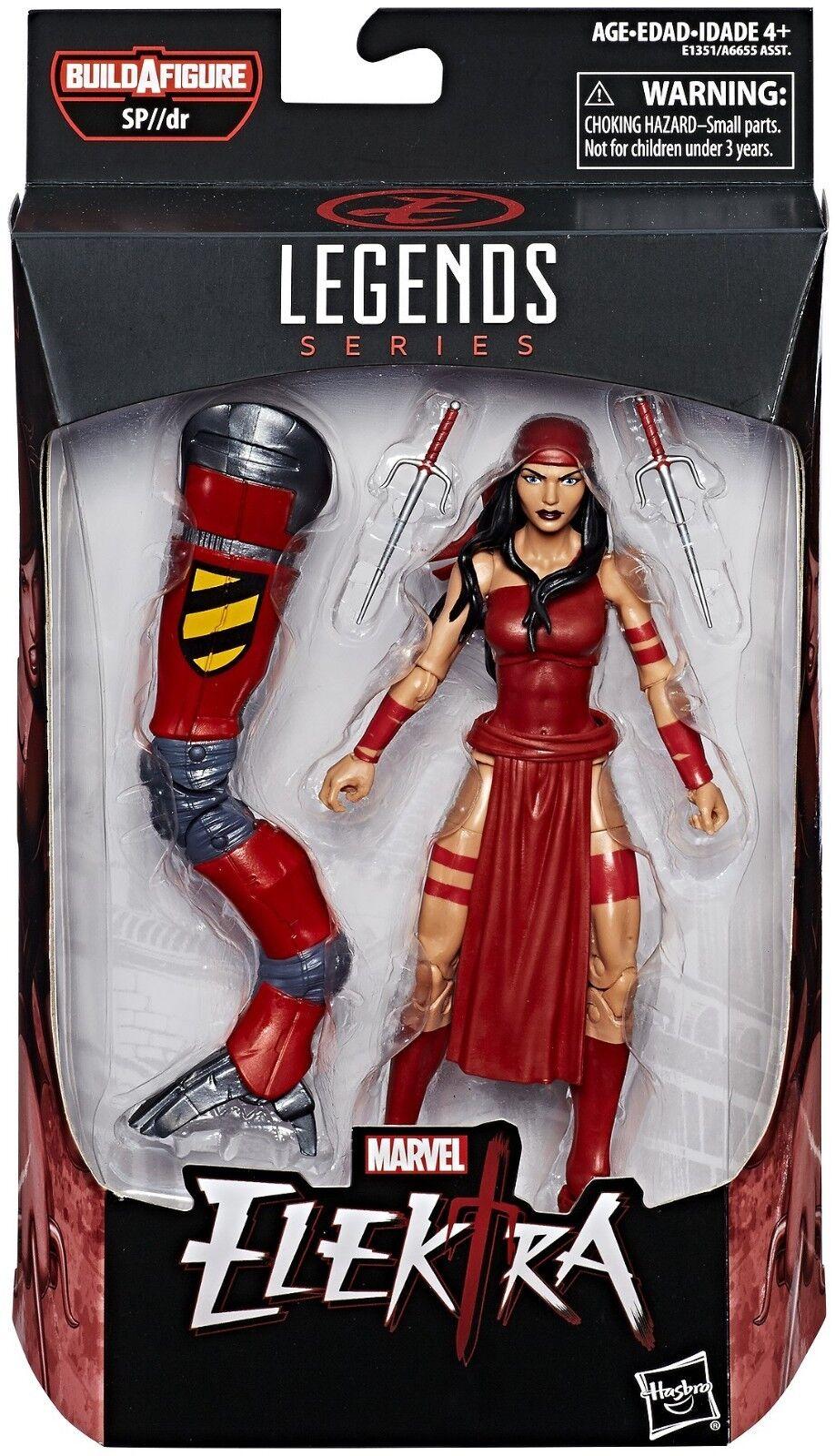 Elektra - Marvel Legends Action Figure SP  DR BAF Series (NEW)