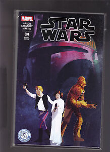 MARVEL COMICS STAR WARS #1 TIDEWATER COMICON EXCLUSIVE CONVENTION COLOR VARIANT