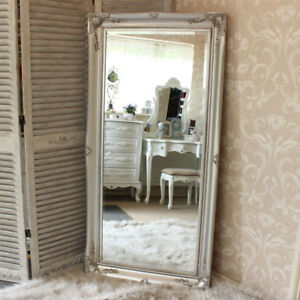 Xl silber Wand Boden Kunstvoll Spiegel schlafzimmer flur wohnzimmer ...