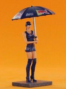 Milla SWFIG//013 Racer Sideways Figures Valvoline Grid Girl w// Umbrella