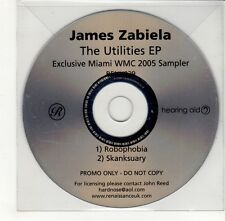 (GO307) James Zabiela, The Utilities EP - 2005 DJ CD