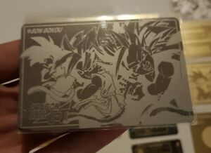 Carte Dragon Ball Z Spécial Original Laser card Sp Goku super battle