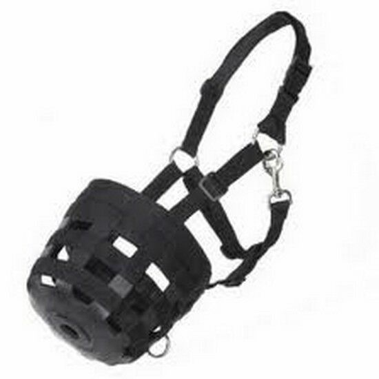 NEW Best Friend Deluxe Grazing Muzzle w Halter COB Size