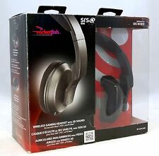 Rocketfish RF-GUV1202 XBox 360 PS3 PC Gaming Wireless Headset & Microphone Mac