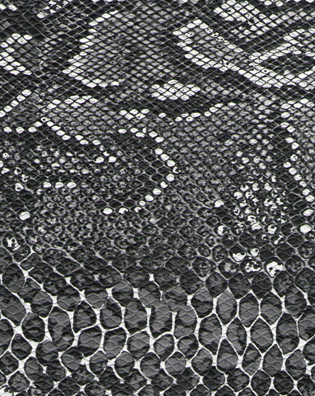 Camera Body Replacement Leatherette self-adhesive Black & White Snake