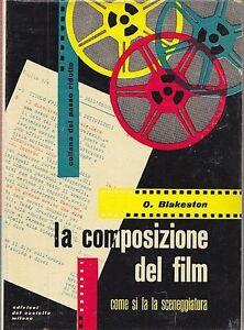 Original La Composizione Del Film - O. Blakeston - Fotografia 1957 Del Castello