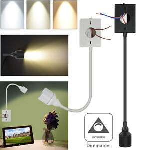 LED Wall Light Dimmable Wall Mount Sconce Bedroom Reading ...