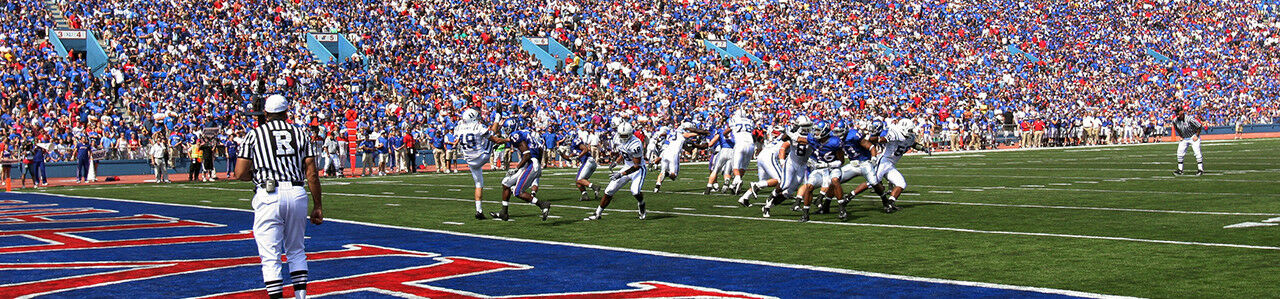 2017 Kansas Jayhawks Football Season Tickets - Season Package (Includes Tickets for all Home Games)