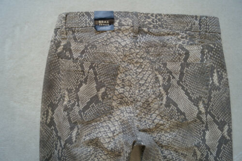 BRAX x/&more MILA  Jeans Modern Fit Stretch Gr.36,40 Regular Schlangenmuster  NEU
