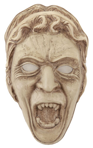 Doctor Who Licensed Weeping Angel Vacuform Frontal Face Mask