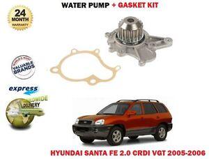 Pour-Hyundai-Santa-Fe-2-0-Crdi-Vgt-Moteur-2005-20006-Neuf-Pompe-Eau-Joint-Kit