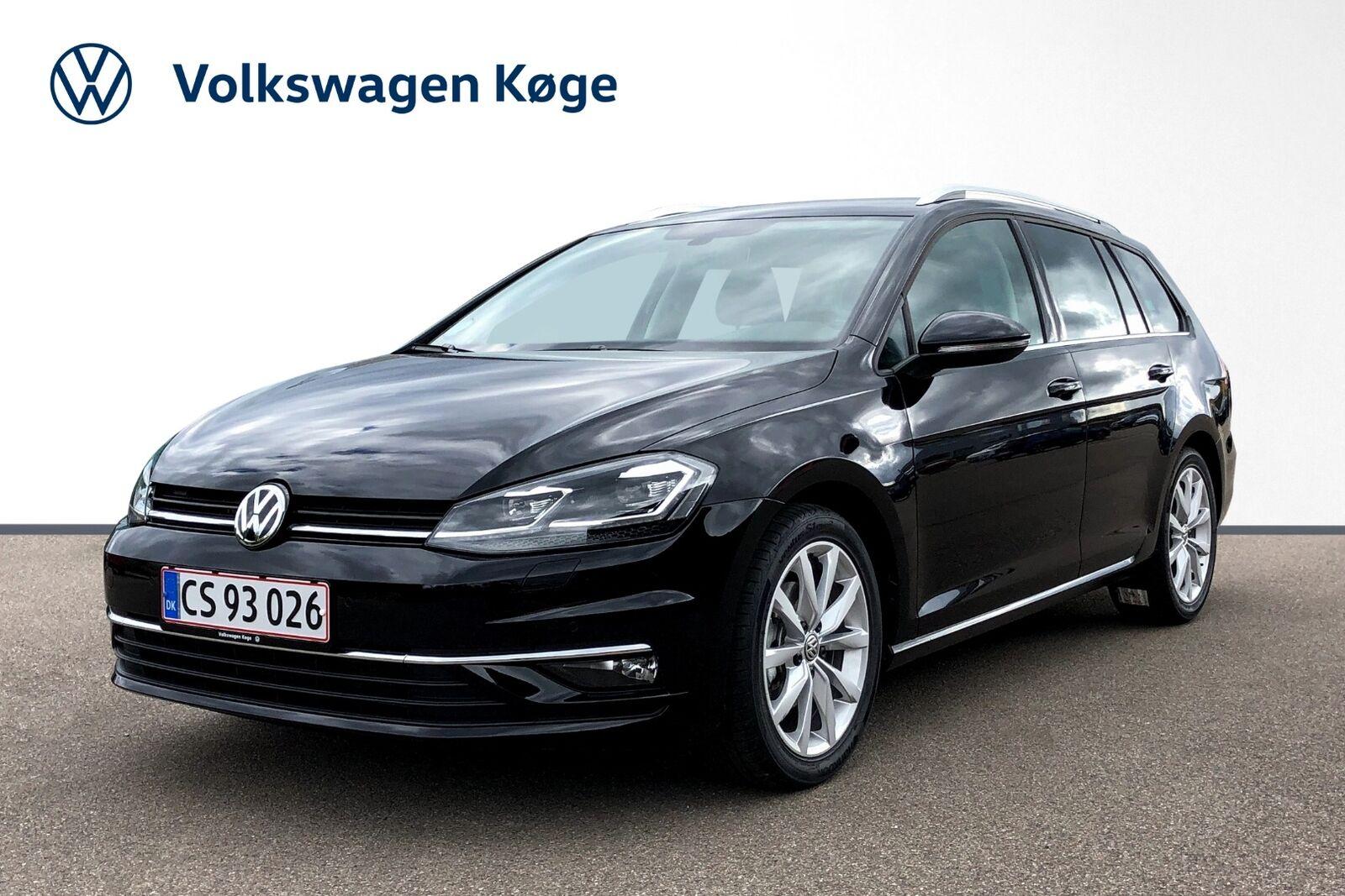 VW Golf VII 1,5 TSi 150 Highl. Variant DSG 5d - 329.900 kr.