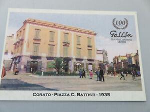 Card Pubblicitaria 100 Years Corato Piazza Battisti 1911 2011 Collectibles