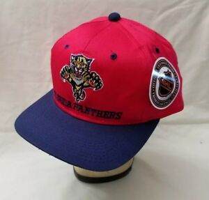Vintage-Florida-Panthers-NHL-Snapback-Trucker-Hat-Hockey-One-Size-Fits-All