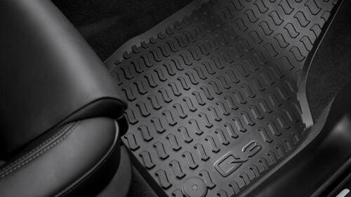 Audi Q3 Gummifußmatten vorne Gummimatten Fußmatten vorne Audi Q3 8U Gummimatten