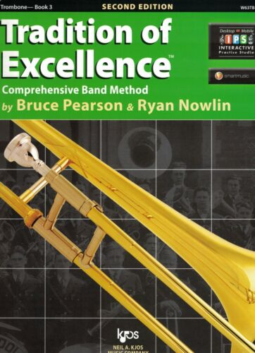 W63TB Tradition of Excellence Trombone Book 3