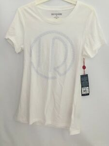 AUTHENTIC-TRUE-RELIGION-WHITE-EMBELLISHED-CREW-T-SHIRT-SIZE-M-STYLE-WC811J069