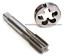 "1set 3//8/""-24 UNF  inch American Standard thread HSS Machine Plug Tap Die Tool"