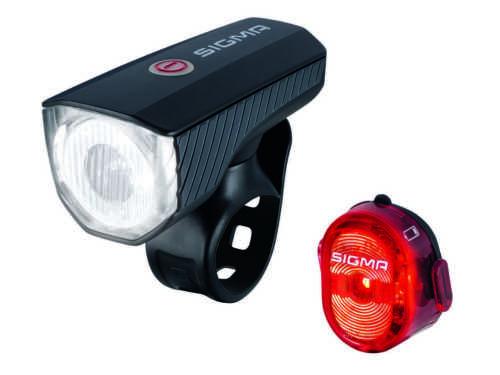 Nugget II RL K-Set 28031 Beleuchtung SET Fahrrad Leuchtset Sigma Aura 40 LED