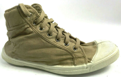 ***NEW*** Bensimon Hi-Top  Canvas Shoes Beige