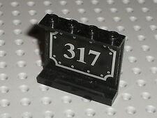 LEGO TRAIN black panel 4215 60581 + Sticker 317 / Set 4535 3741 3740 10205 4534