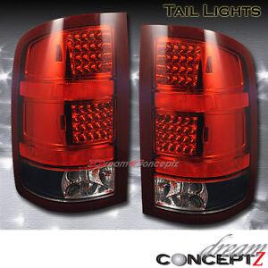 2007 2008 2009 2010 gmc sierra 1500 2500 led tail lights. Black Bedroom Furniture Sets. Home Design Ideas