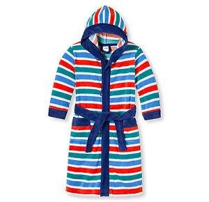 a1b38d9cb341a Schiesser Enfants Garçons Peignoir de Bain Robe de Chambre Taille ...