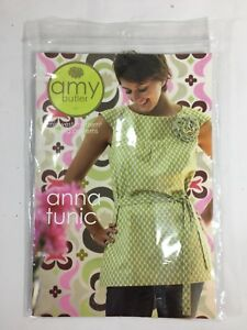 Amy-Butler-Sewing-Pattern-Anna-Tunic-Cami-Mini-Dress-Fabric-Flower
