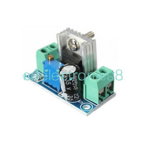 1Pcs DC Linear Converter Buck Step Down LM317 Low Ripple Module Power Supply