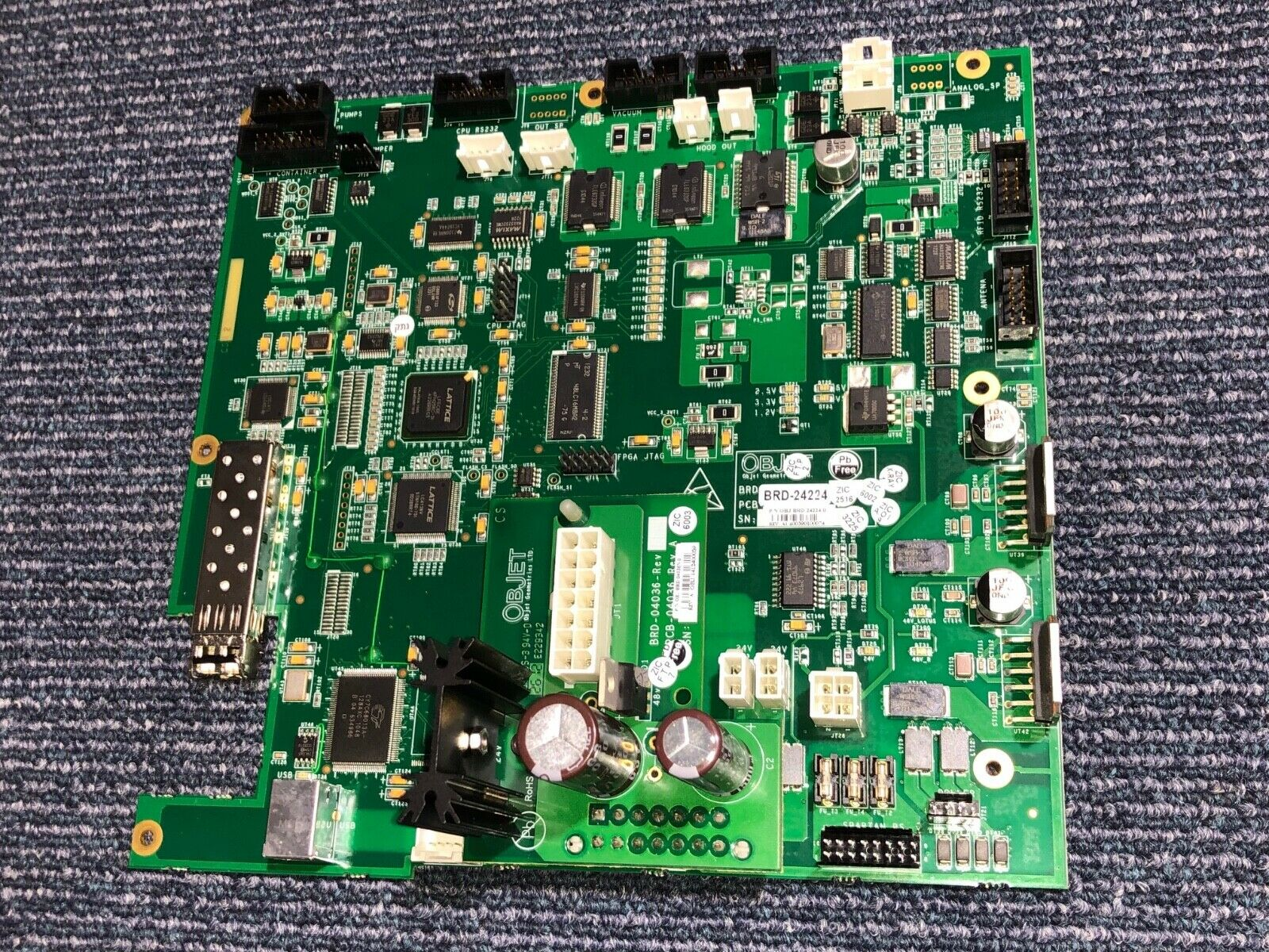 Stratasys Objet30 scholar BRD-24224 Board