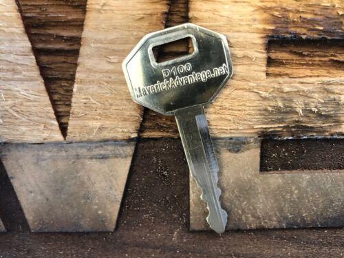 5 keys fits D100 E900 FITS Doosan Daewoo Heavy EquipmentIgnition Starter DH60 55