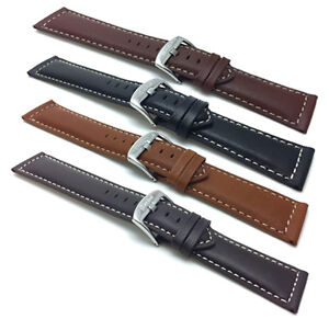 18-30mm-Extra-Long-XL-Leather-Watch-Band-Strap-Many-Colors-Fits-Citizen-amp-More
