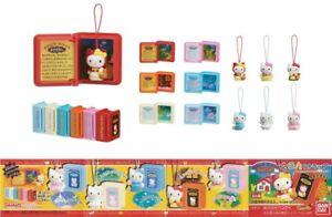 Details About Rare Set 6 Figurine Bonjour Kitty Fairy Tales Mini Livres Fiabe Celebre Japon