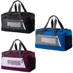 0f31b649b69d2 Das Bild wird geladen Puma-Sporttasche-Fundamentals-Sports-Bag- Trainingstasche-Training-Bag-