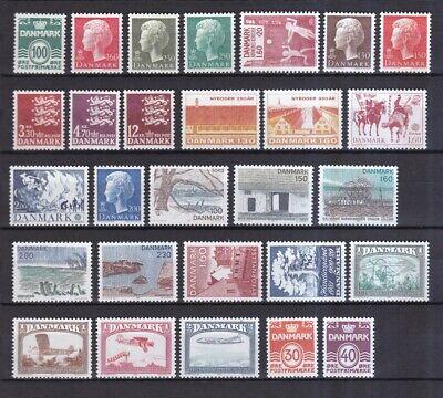 Dänemark Postfrisch Jahrgang 1981 Siehe Bild Produkte Werden Ohne EinschräNkungen Verkauft