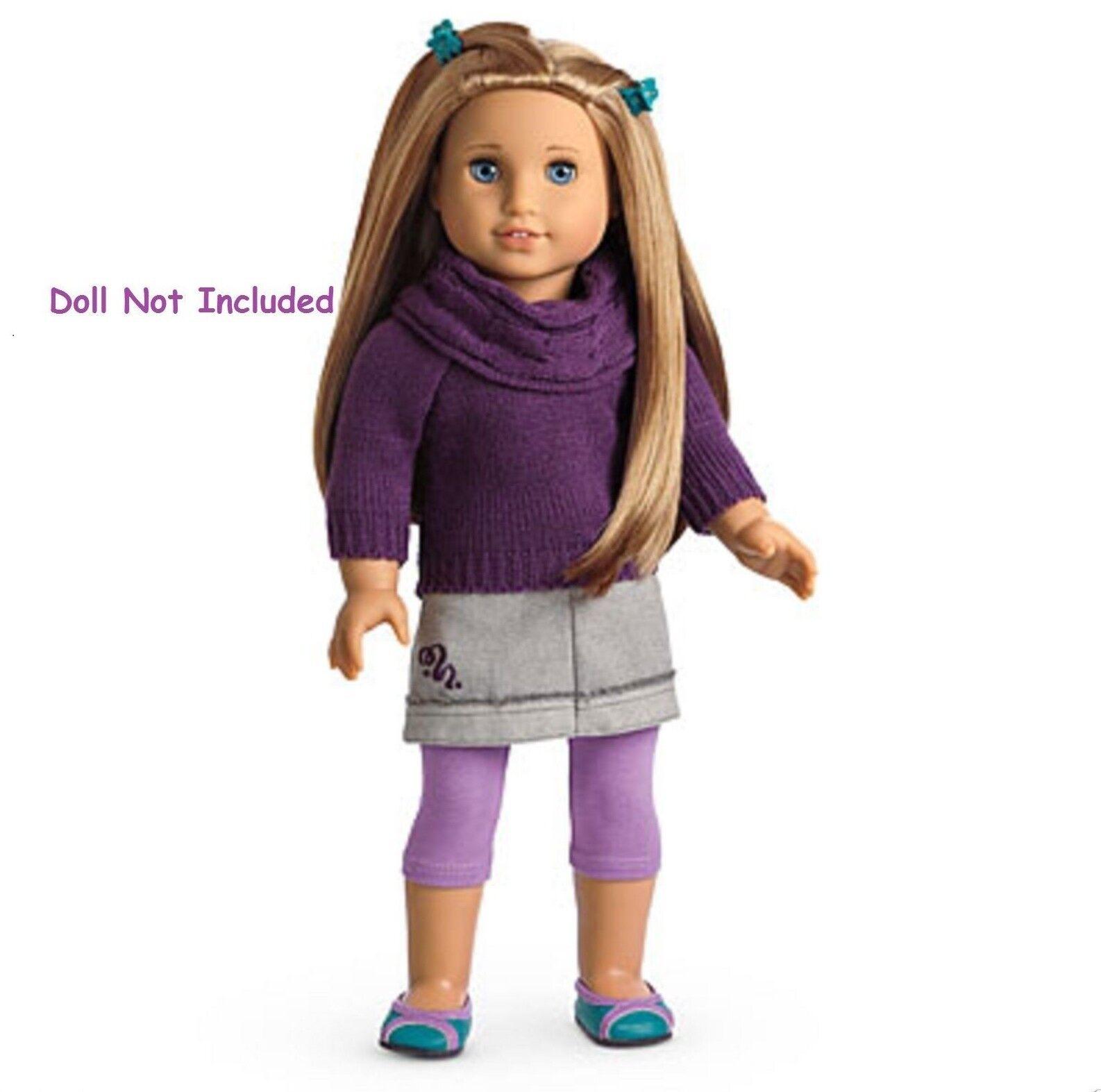 American Girl McKenna's School traje le NIB NIB NIB Suéter Conjunto Falda Legging retirado  mejor vendido