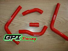silicone radiator hose FOR HONDA CR125 CR 125 2005-2008 2006 2007 ,RED