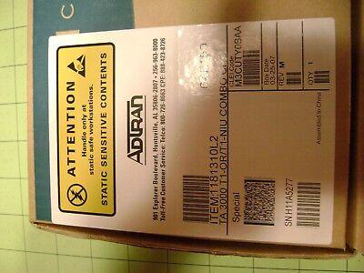 Adtran 1181310l2 Ta3000 T1-or/t1-niu Combo Card New Jm