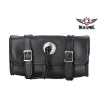 12 Motorcycle Tool Bag With Studs & Concho