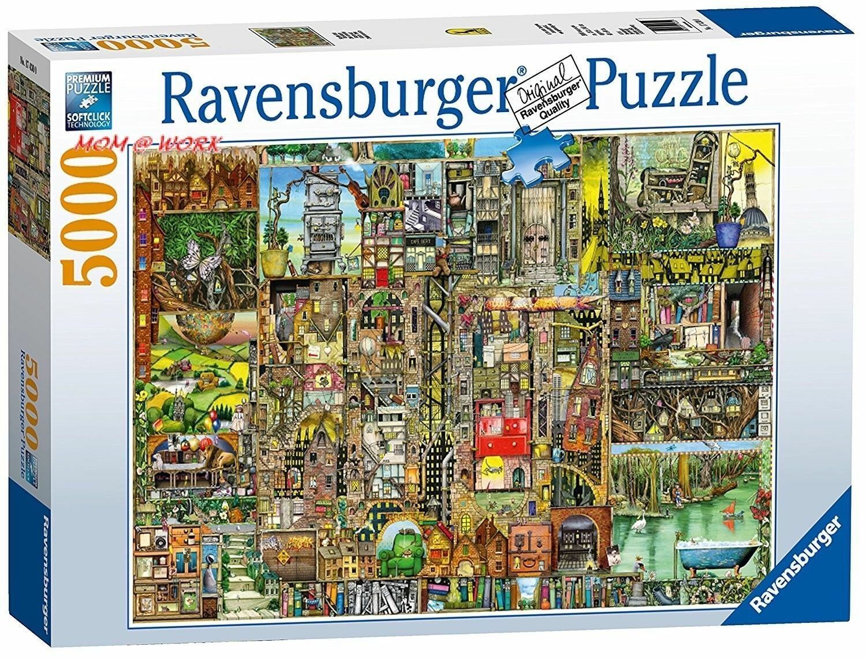 Ravensburger  Colin Thompson  Bizarre Town Jigsaw Puzzle (5000 Piece)  SEALED  wholesape economico