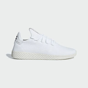 Adidas Originals PW Tennis HU  B41792  Women Casual Shoes White ... 46d24c81e