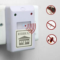 Ultraschall Ratten Mäuse Vertreiber Mausefalle Insektenfalle Riddex 220V JUDE