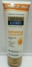 Gold Bond Ultimate Softening Skin Therapy Cream 6.87 Oz Bonus Size 25 More