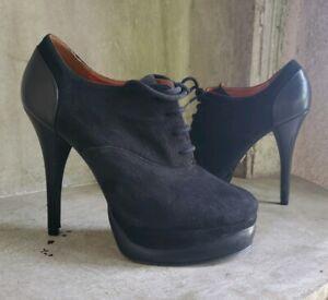 shooties ankle booties heels sz 7.5M
