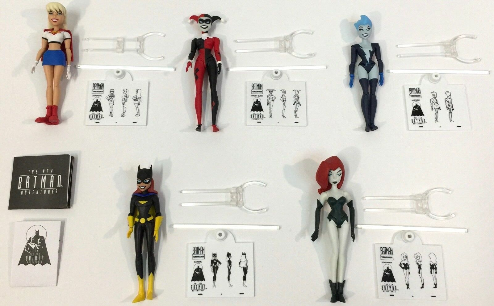 BATMAN Animated Series GIRLS NIGHT OUT Figure Gift Set HARLEY Quinn Batgirl