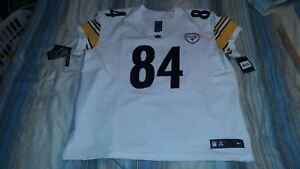 buy popular dbd32 a73e0 Details about ANTONIO BROWN #84 Steelers Nike Vapor Untouchable Elite  Football Jersey sz 56
