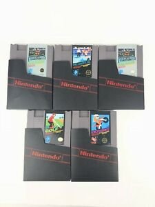 Excitebike-GOLF-More-Nintendo-Entertainment-System-1985-NES-Cart-Only-LOT-5