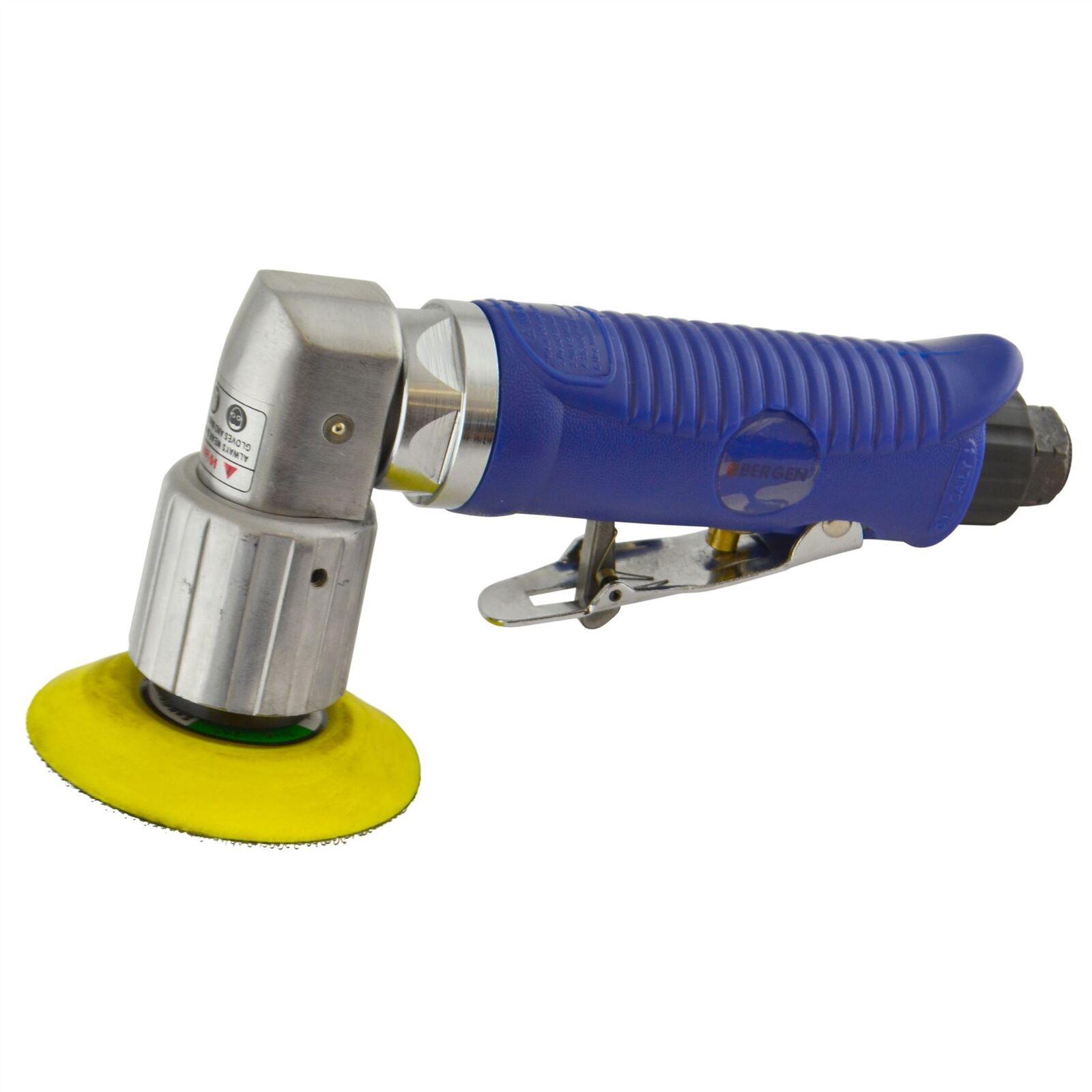 2  50mm Air Angle Sander Grinder Polisher With Hook Loop Pad Sanding Pad
