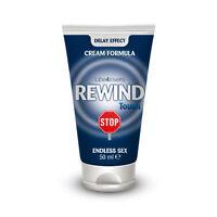 Cream Flame Retardant Ejaculation Early Rewind Touch 50ml +4 Condoms +1 Durex
