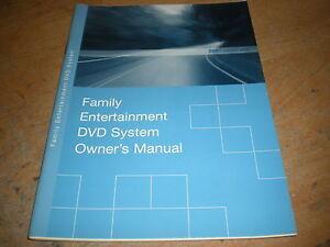 2004 ford expedition explorer escape family entertainment system rh ebay com Ford Family Entertainment System Ford Family Entertainment System